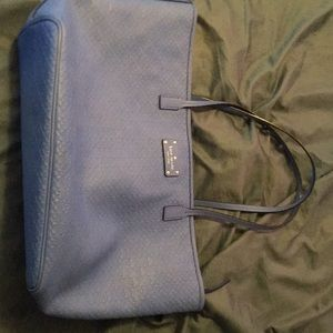 Royal blue like new Kate Spade purse